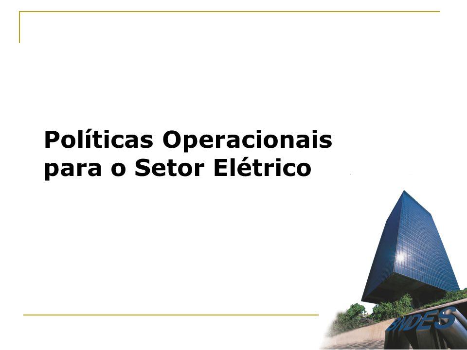 Políticas Operacionais para o Setor Elétrico