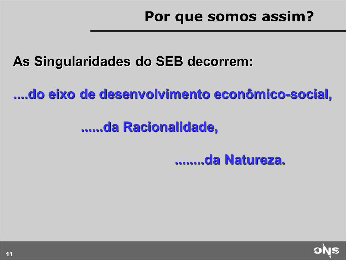 11 As Singularidades do SEB decorrem:....do eixo de desenvolvimento econômico-social,......da Racionalidade,......da Racionalidade,........da Natureza