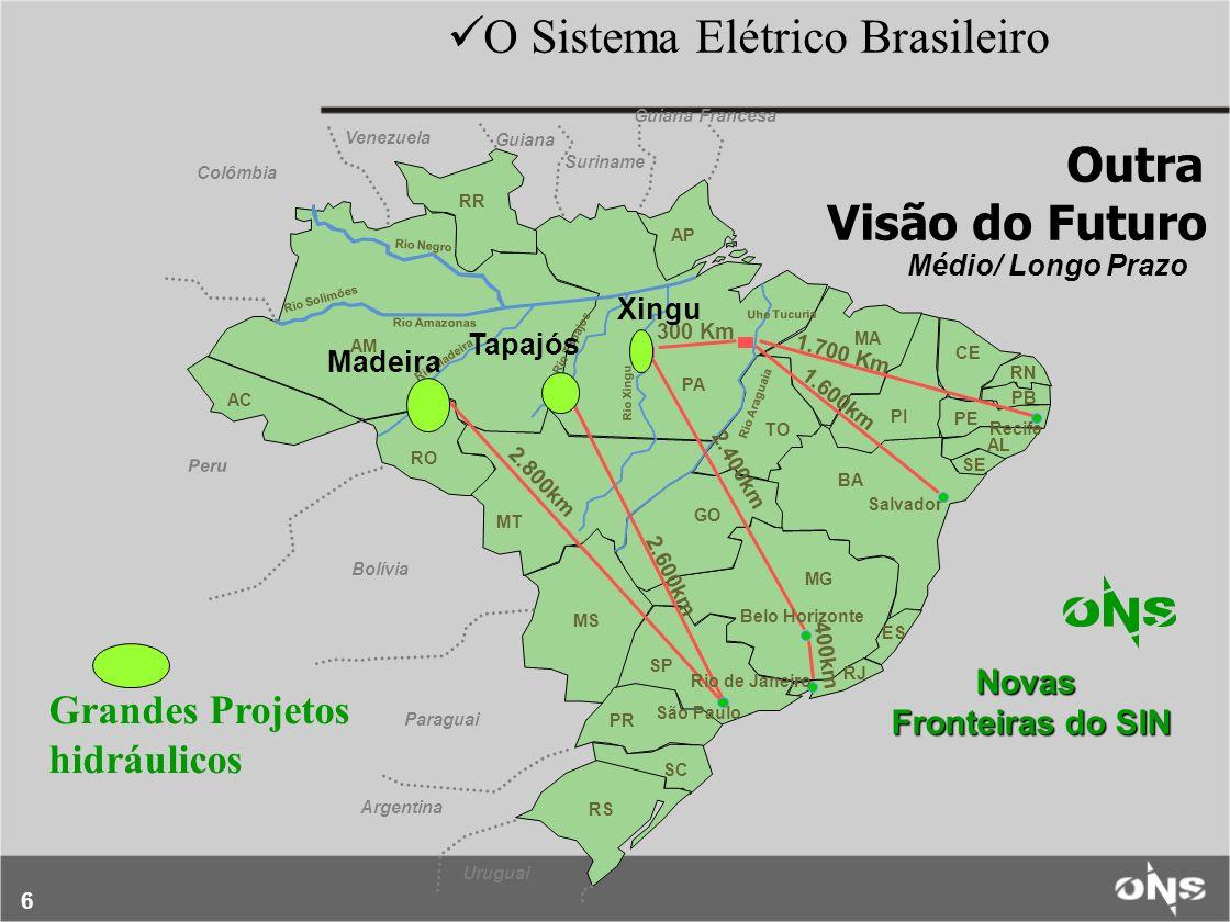 6 PR SC RS RJ SP MS GO BA TO PA MT RO AC AM RR AP MA CE PI PE RN PB AL Recife 300 Km Venezuela Colômbia Suriname Guiana Francesa Bolívia Salvador ES P