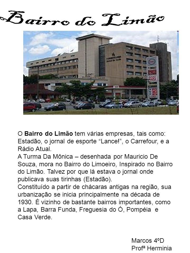 As avenidas Deputado Emílio Carlos, Parada Pinto, Inajar de Souza e Imirim são as artérias principais da Cachoeirinha. Destaque também para a famosa p