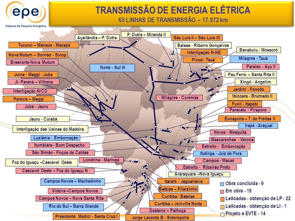 Videira –Campos Novos Ji- Paraná – Vilhena Rio do Sul – Barra Grande Luziânia - Emborcação São Simão - Poços de Caldas Londrina - Maringá Cascavel Oes