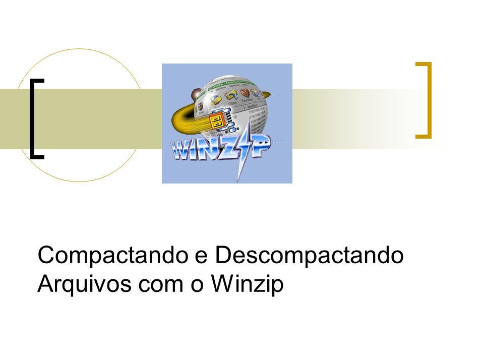 Compactando e Descompactando Arquivos com o Winzip