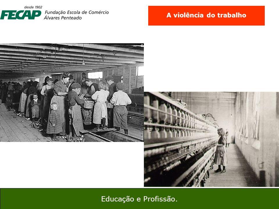 6 45 Educação e Profissão. A violência do trabalho