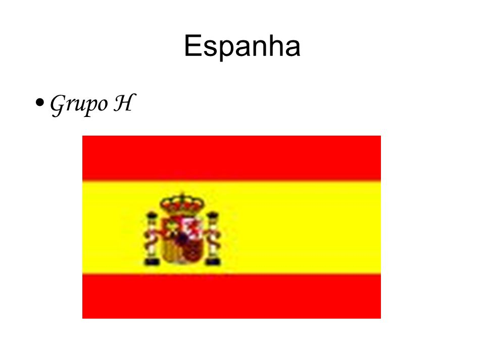 Espanha Grupo H