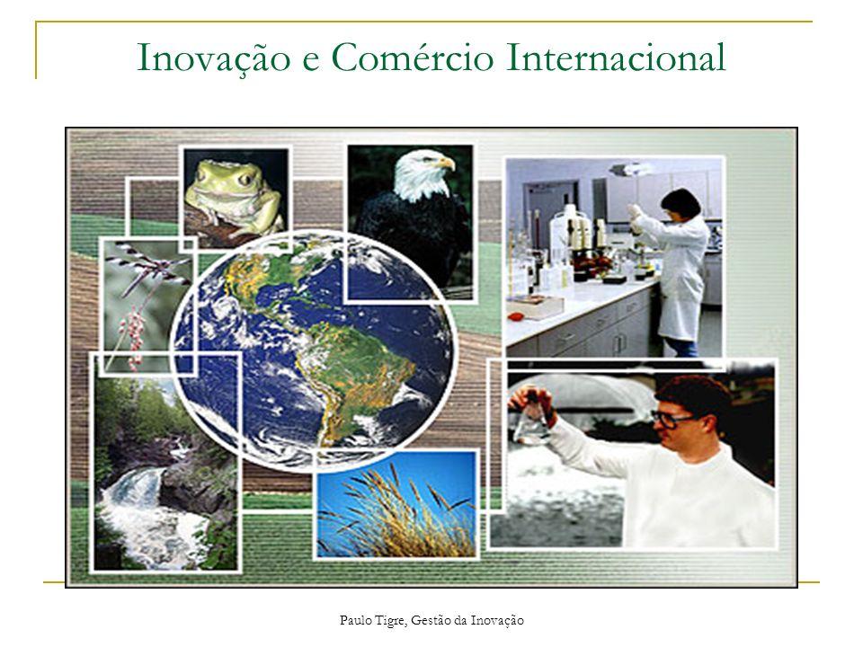 Paulo Tigre, Gestão da Inovação Acordos Internacionais A OMC criou o Acordo de Barreiras Técnicas, ao qual o Brasil aderiu.