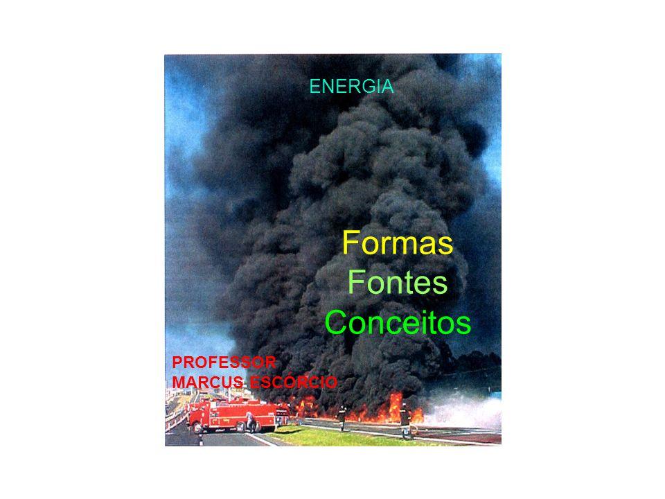 Não renovável ENERGIA Formas Fontes Conceitos PROFESSOR MARCUS ESCÓRCIO