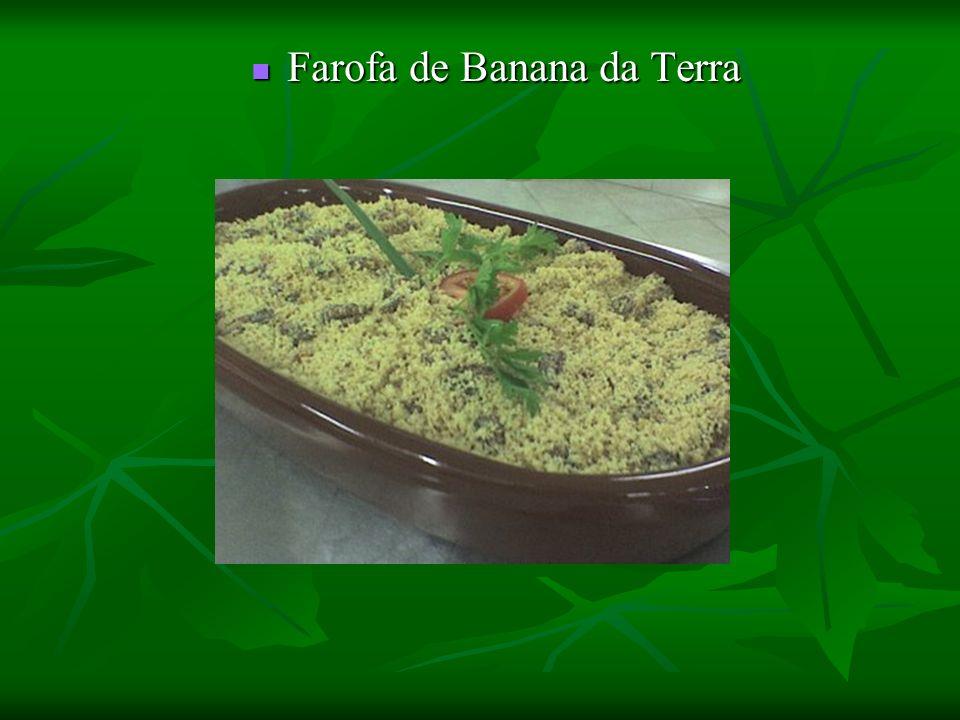 Farofa de Banana da Terra Farofa de Banana da Terra