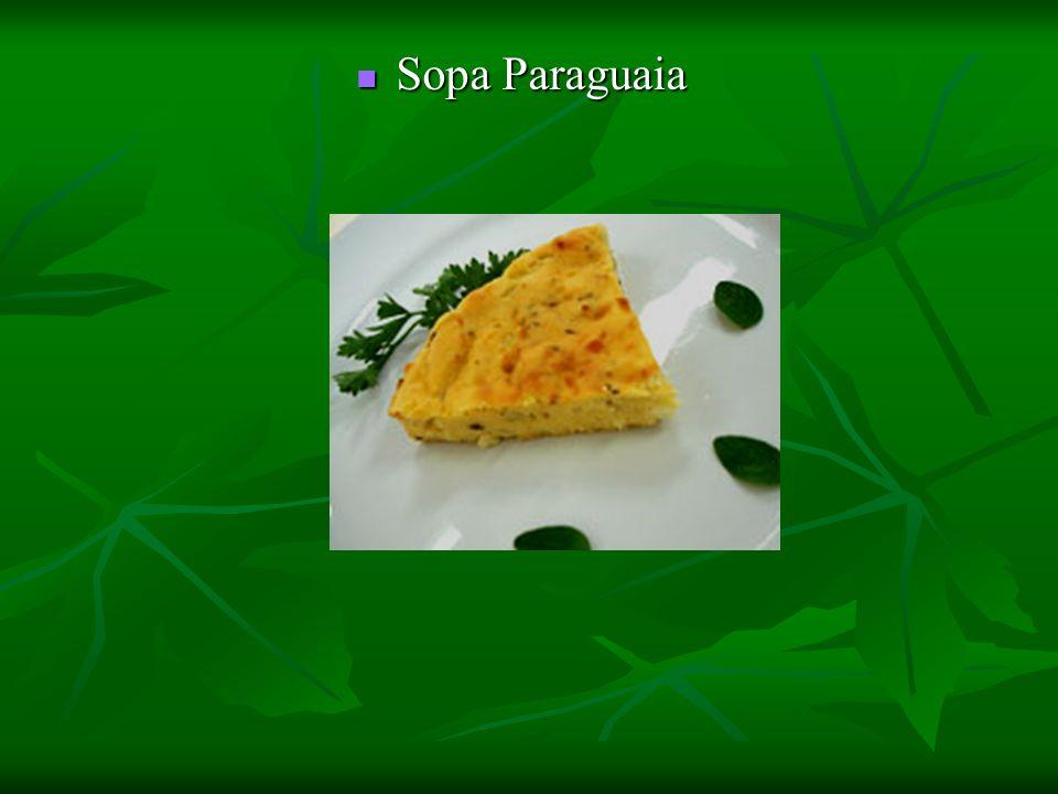 Sopa Paraguaia Sopa Paraguaia