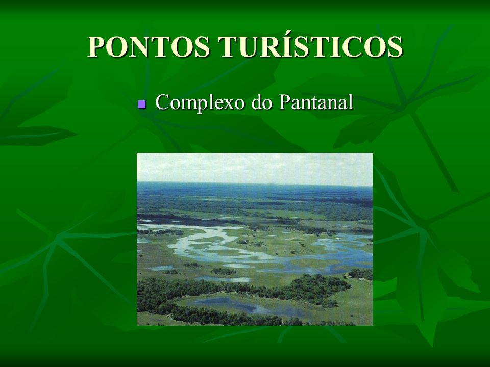 PONTOS TURÍSTICOS Complexo do Pantanal Complexo do Pantanal