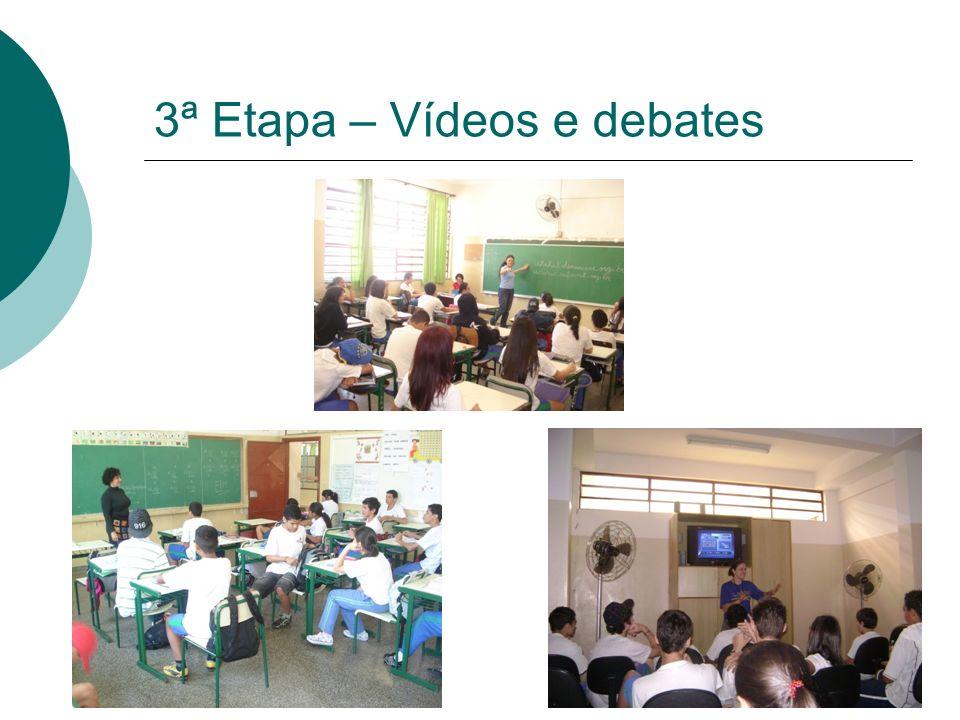 3ª Etapa – Vídeos e debates