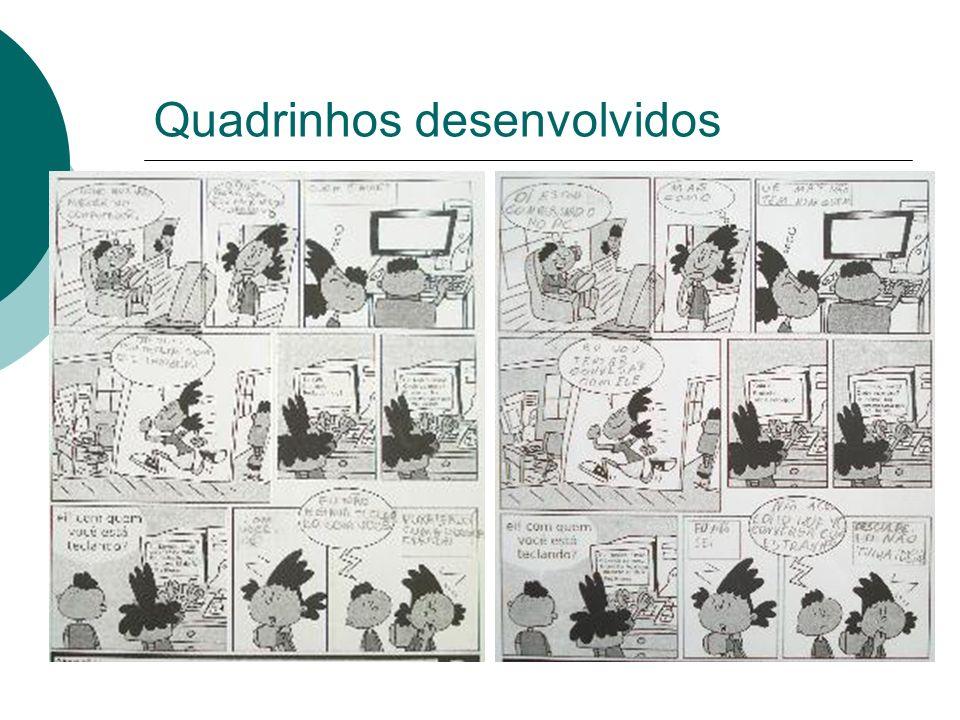 Quadrinhos desenvolvidos