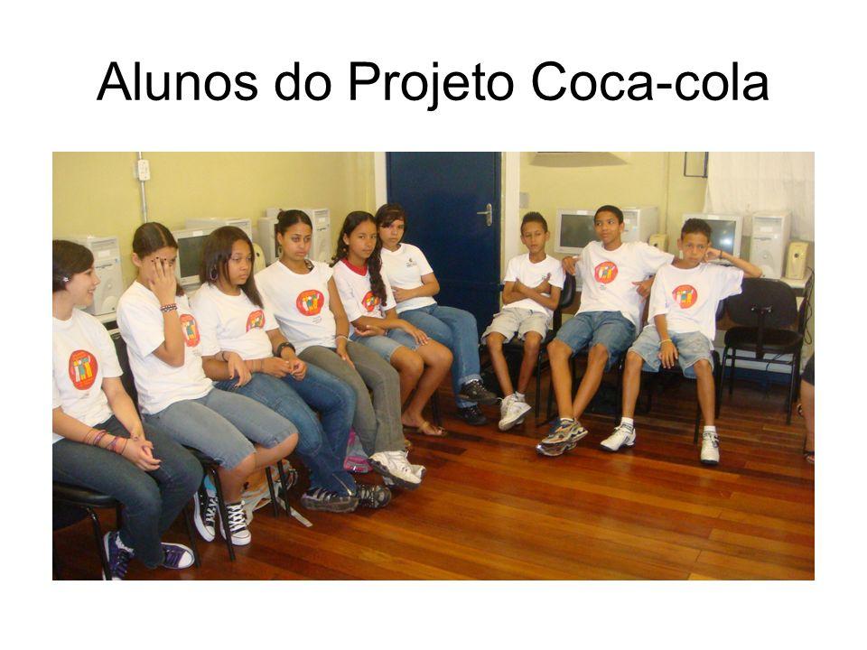 Alunos do Projeto Coca-cola