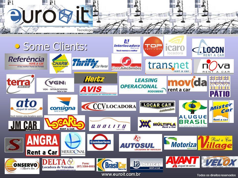 www.euroit.com.br Todos os direitos reservados Company Airport Celular Notebook PDA Home Security Connectivity VPN Dados (MS-SQL) ASP,.Net and Ajax
