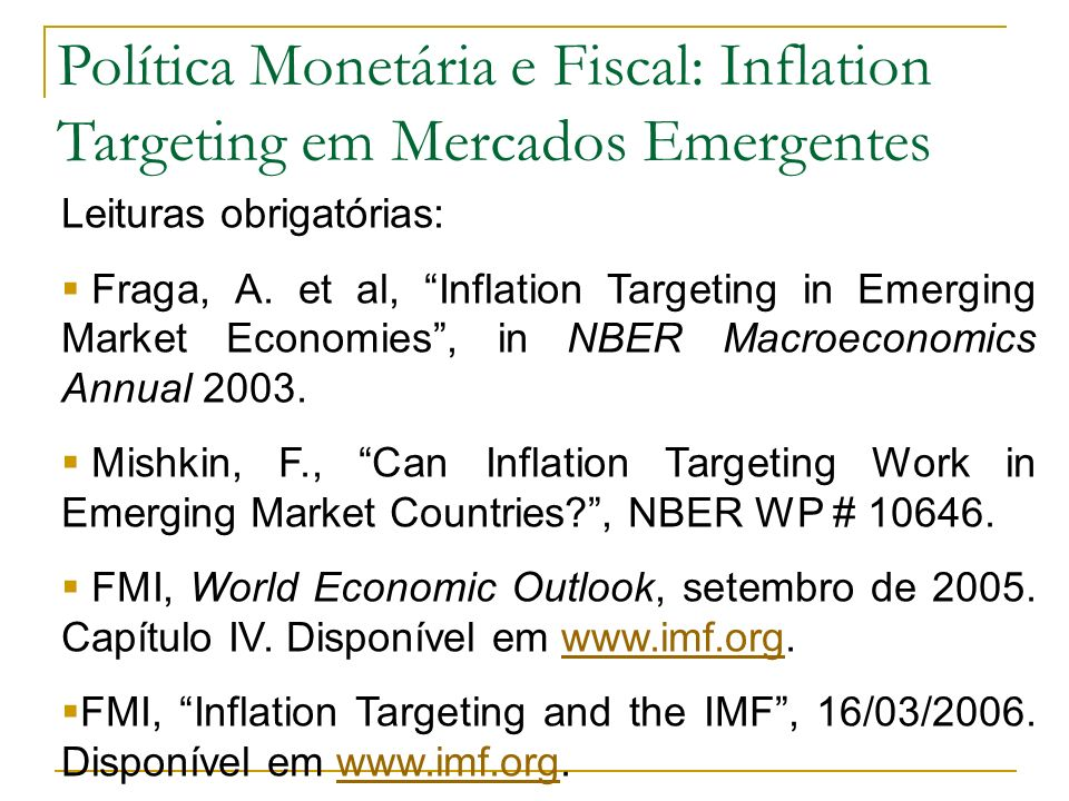 What is inflation targeting.Inflation targeting (IT) has no unanimous definition.