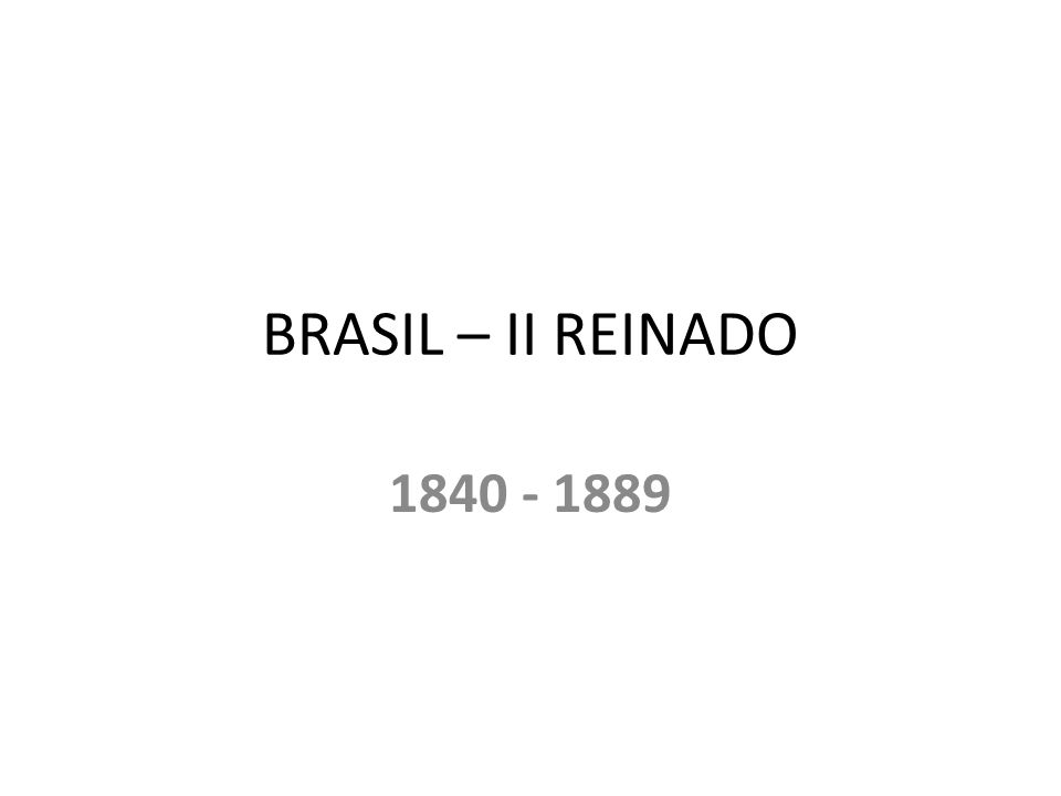 1837 – REGRESSISTAS (conservadores) X PROGRESSISTAS (liberais) - conservadores derrubam os liberais e indicam um regente 1840 – GOLPE DA MAIORIDADE – D.