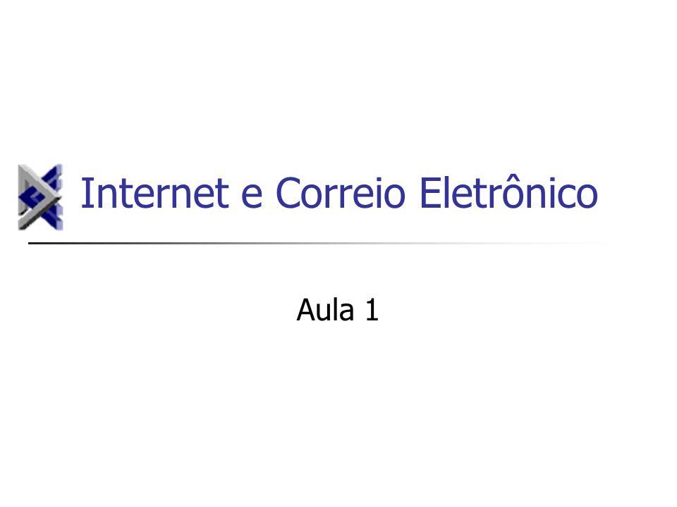 Internet e Correio Eletrônico Aula 1