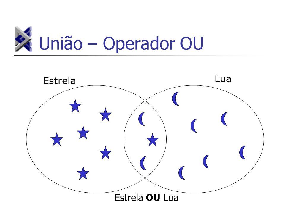 União – Operador OU Estrela Lua Estrela OU Lua