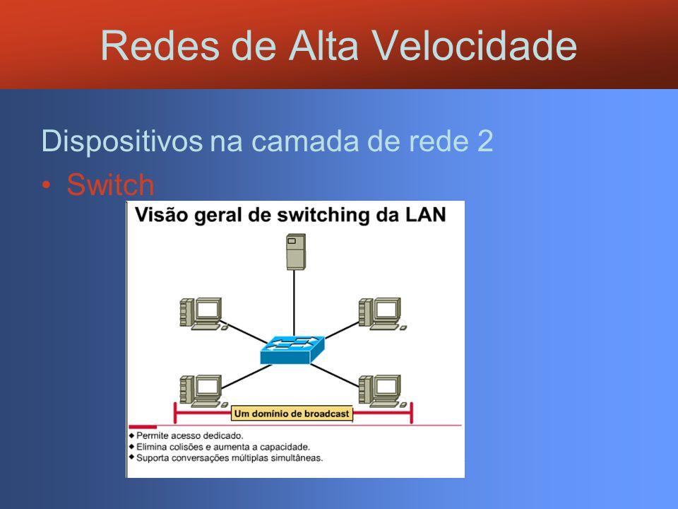 Switch Redes de Alta Velocidade
