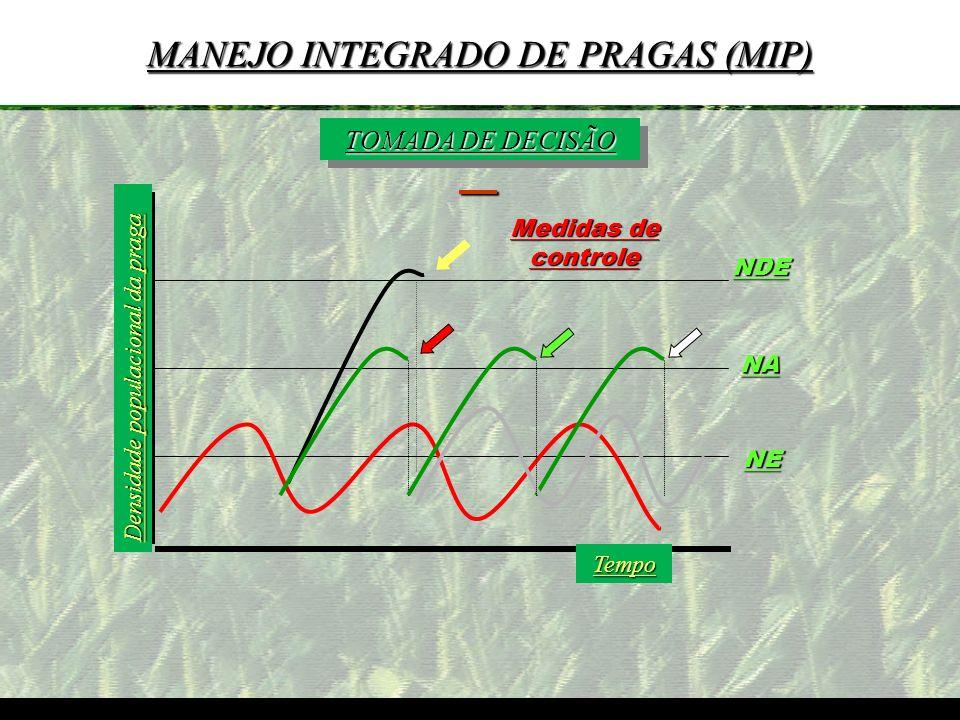 mzuppi.cursos@gmail.com Educação e Treinamento do Homem do Campo TOMADA DE DECISÃO Densidade populacional da praga Tempo NE NA NDE Medidas de controle
