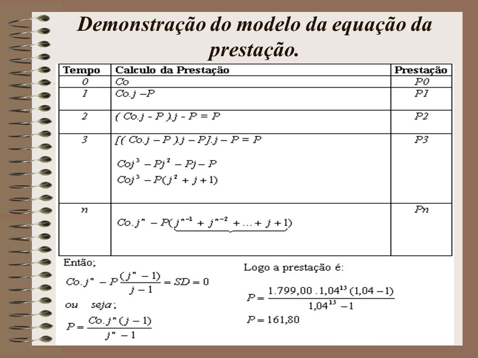 Problema II: Agiota Oferece Capital Inicial: R$ 1.799,00 N = 15 cheques Taxa: 4 % a.