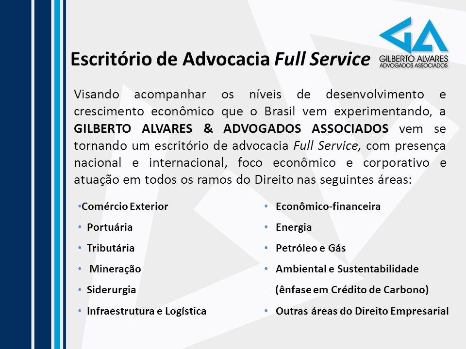 Escritório de Advocacia Full Service Visando acompanhar os níveis de desenvolvimento e crescimento econômico que o Brasil vem experimentando, a GILBER