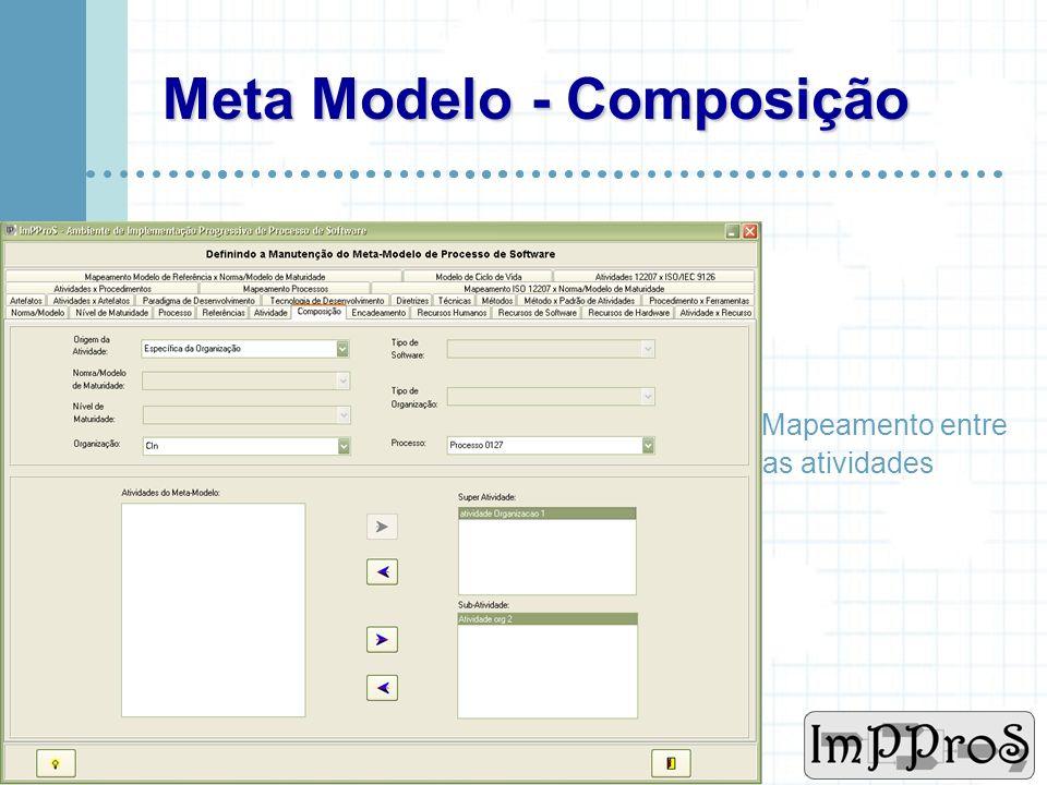 www.cin.ufpe.br/~imppros Meta Modelo - Atividade