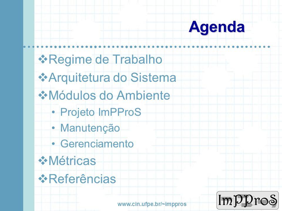 Igor Cavalcanti Ramos José Francisco Pereira {icr2, jfp}@cin.ufpe.br Ambiente de Implementação Progressiva de Processo de Software