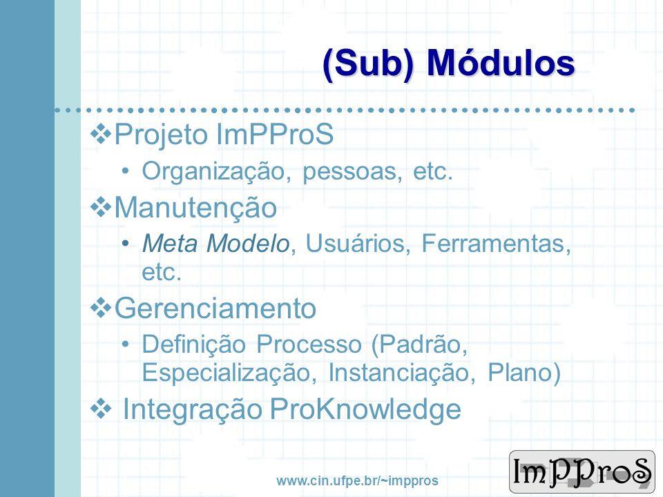 www.cin.ufpe.br/~imppros O Ambiente