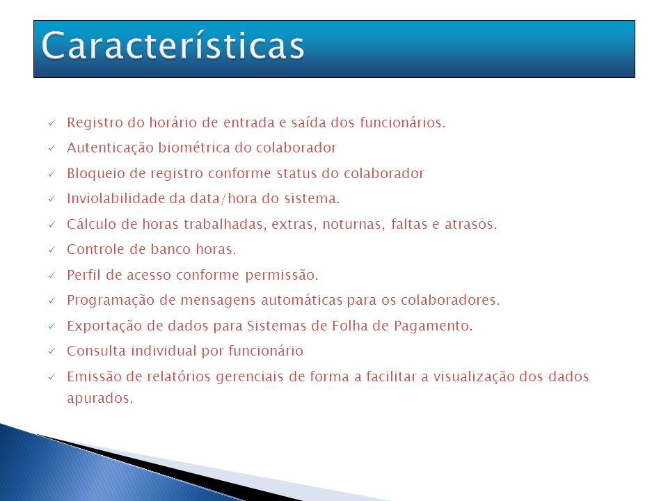 Autenticação biométrica.Diretivas de segurança por usuário.
