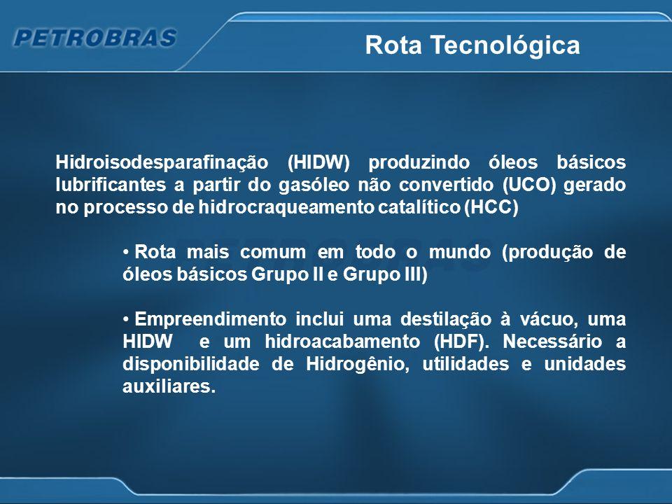 Alternativas analisadas Casos Avaliados Início de Operação Refinaria Premium IJun-15 Refinaria Premium IIDez-15 Serão avaliados projetos existentes na carteira de investimentos da Petrobras nos quais estejam previstas unidades de HCC