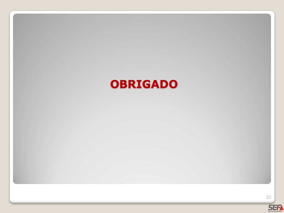 OBRIGADO 23