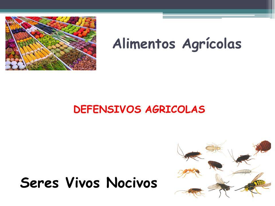 Alimentos Agrícolas DEFENSIVOS AGRICOLAS Seres Vivos Nocivos