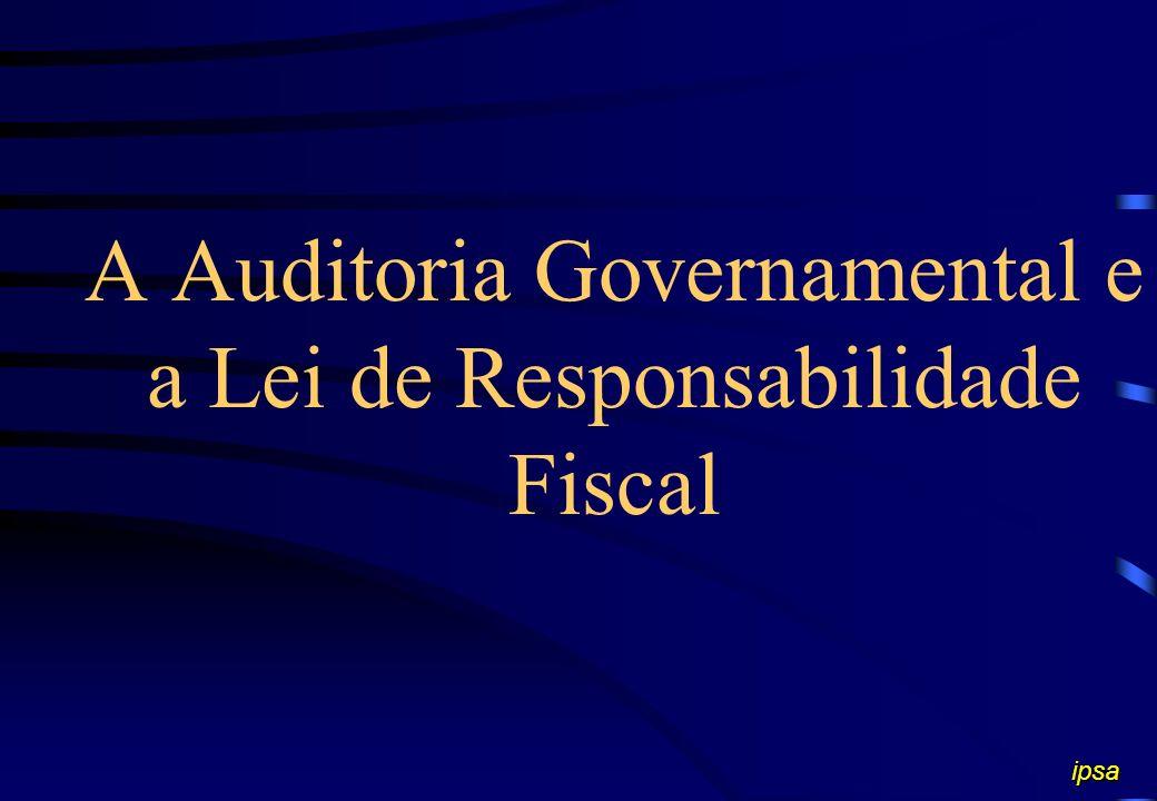 AUDITORIA GOVERNAMENTAL A auditoria governamental consiste no exame objetivo, isento da emissão de juízos pessoais imotivados, sistêmico e independent