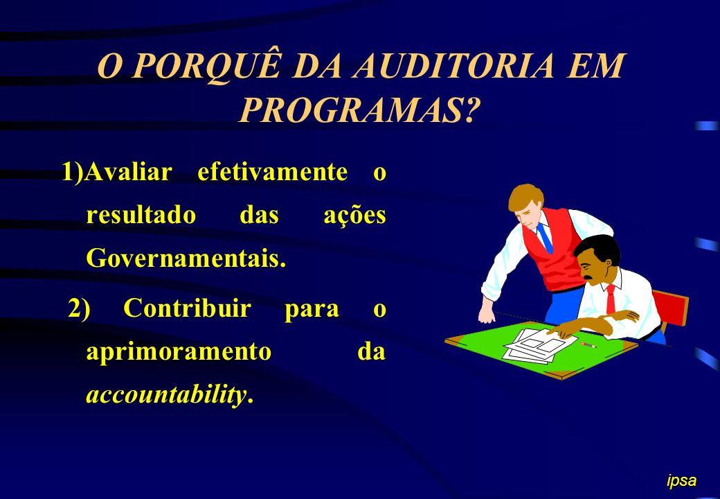 O Art. 119 da Resolução Regimental do TCE A execução dos programas de Governo servirá de critério básico para a realização de auditorias, inclusive in