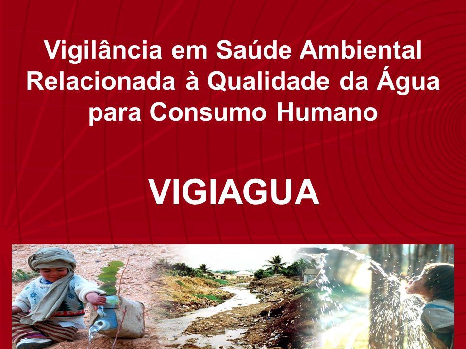 Vigilância em Saúde Ambiental Relacionada à Qualidade da Água para Consumo Humano VIGIAGUA