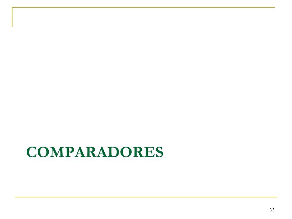 COMPARADORES 33