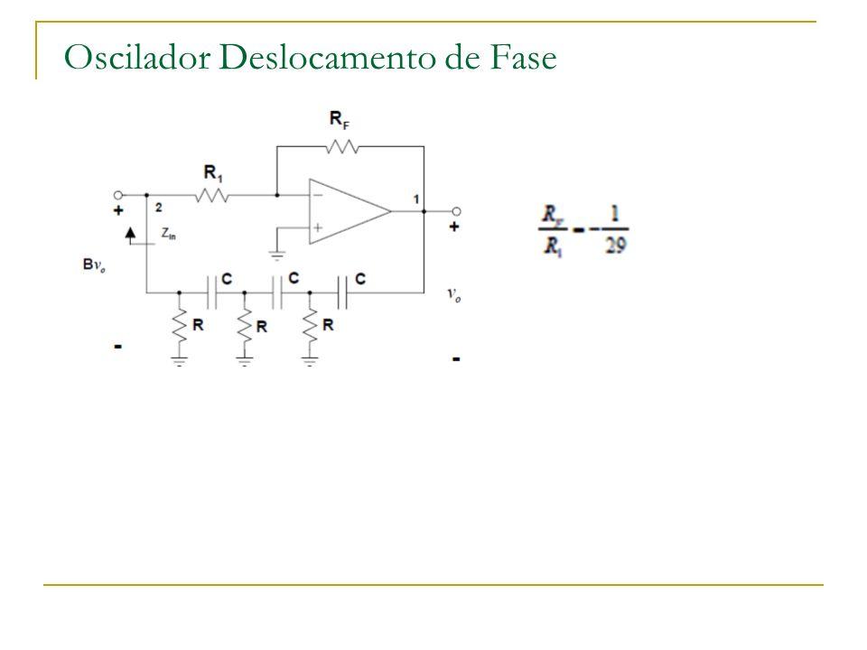 Oscilador Deslocamento de Fase