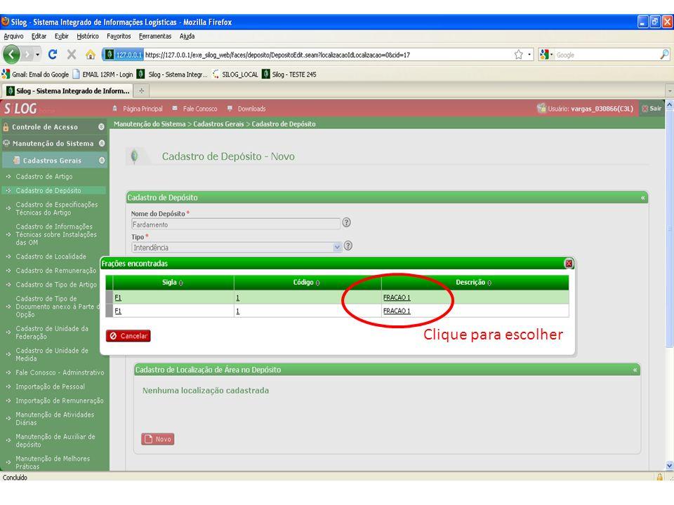 Recebimento de Artigo - OM Clique para Receber a Guia de Fornecimento Lista das Guias de Fornecimento enviadas