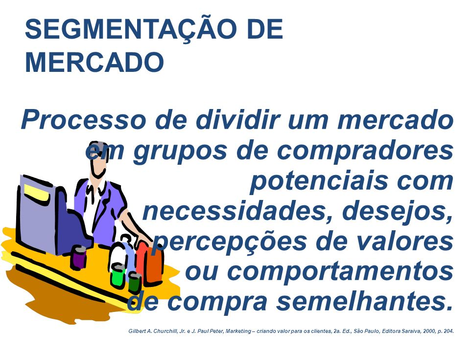 DEFININDO O MERCADO MERCADO = conjunto de todos os compradores reais e potenciais de um produto ou serviço MERCADO POTENCIAL = interesse + renda + acesso + qualificação Níveis de mensuração da demanda: NÍVEL GEOGRÁFICO > cliente - território - região – país - mundo NÍVEL DE PRODUTO > item de produto - linha de produto - categoria de produto - empresa - indústria NÍVEL DE TEMPO > curto prazo - médio prazo - longo prazo