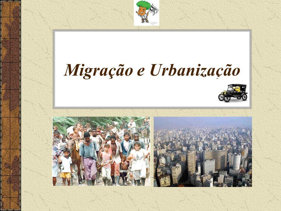 Migração e Urbanização