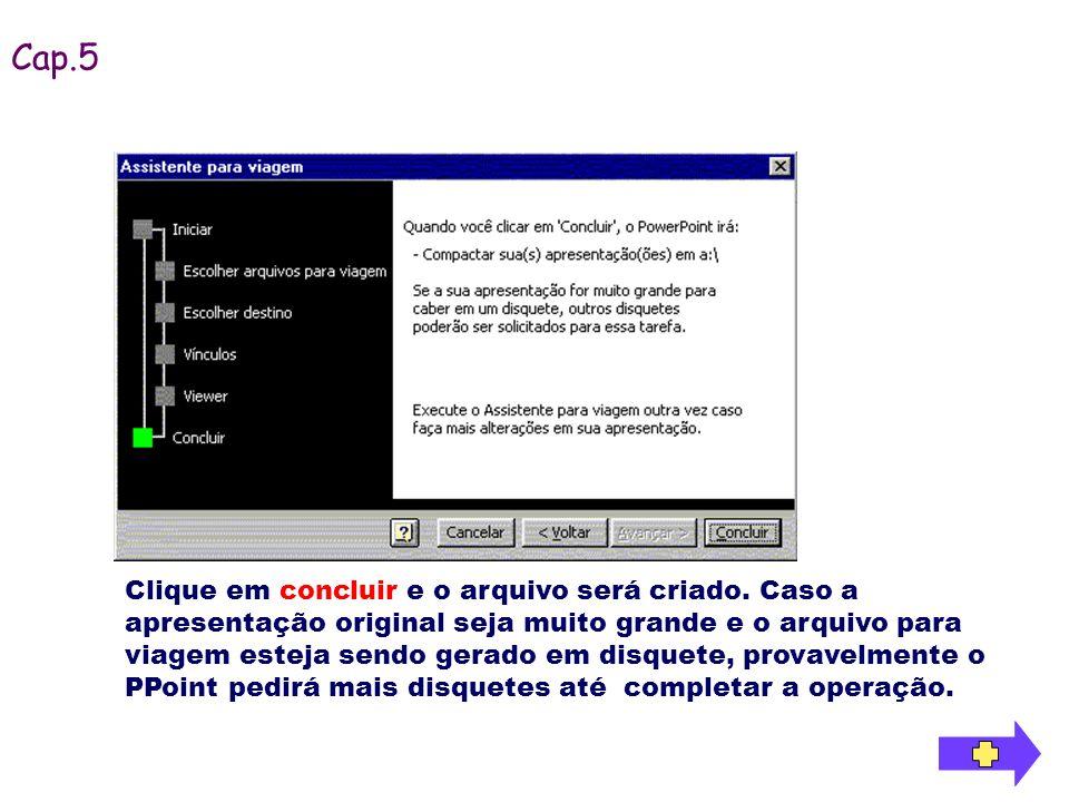 Para iniciar a instalação, no computador que será feita a apresentação, basta inserir o primeiro disco, iniciar o Explorer, selecionar a unidade de disco e dar um duplo clique sobre o arquivo gerado para iniciar a instalação.