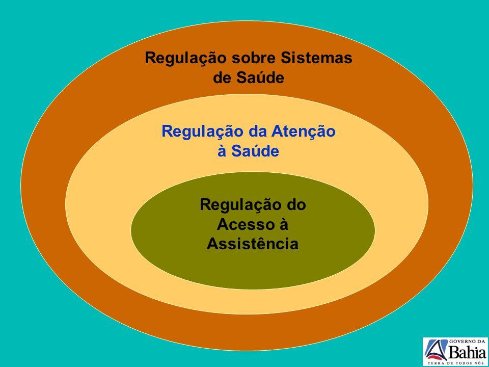 Municípios em gestão plena e/ou sede de micro com centrais de agendamento. Fonte: MS/SESAB