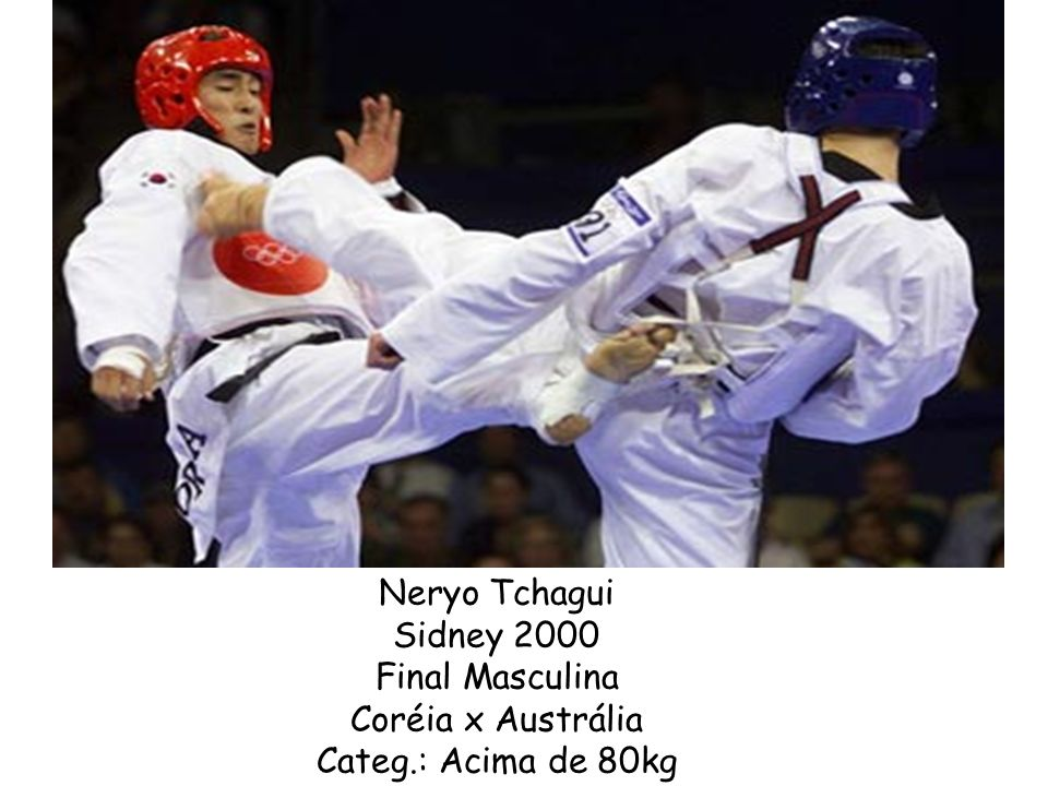 Neryo Tchagui Sidney 2000 Final Masculina Coréia x Austrália Categ.: Acima de 80kg