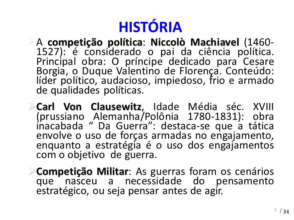 competição política:Niccolò Machiavel A competição política: Niccolò Machiavel (1460- 1527): é considerado o pai da ciência política. Principal obra: