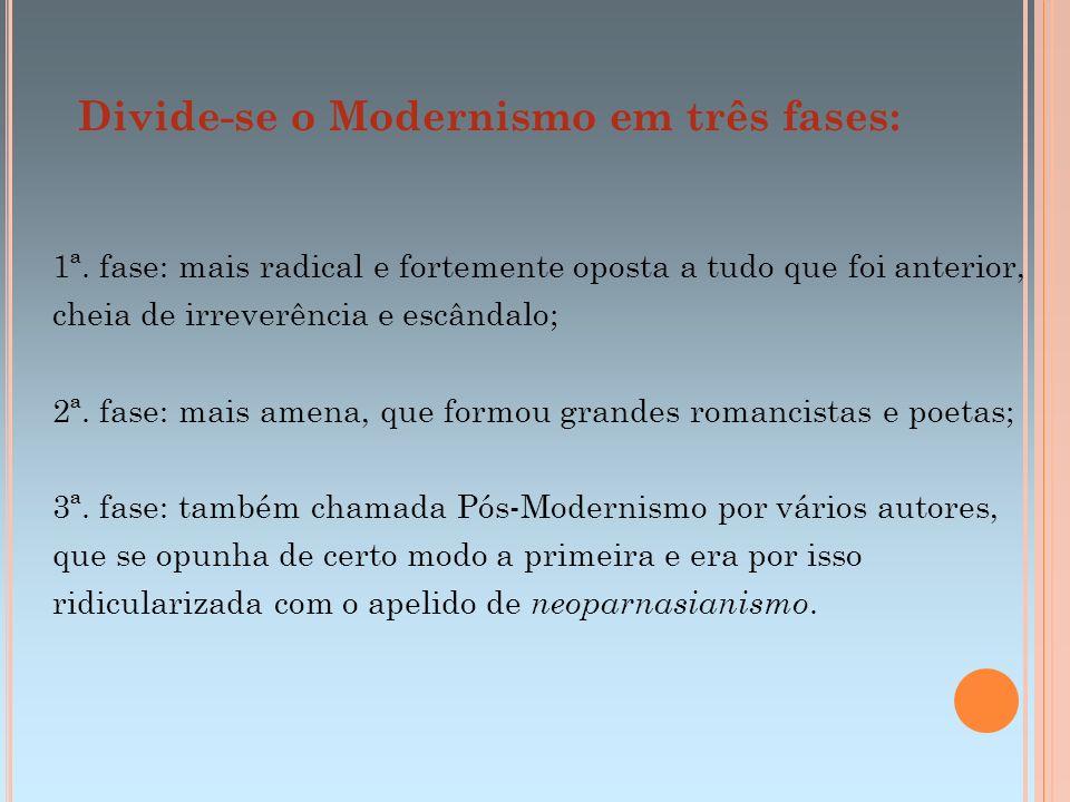 Segunda geração (1930-1945) - Poesia JORGE DE LIMA MURILO MENDES Sua obra se caracteriza pelo humor e pela ironia usados como forma de crítica, pelo espiritualismo e pela temática social.
