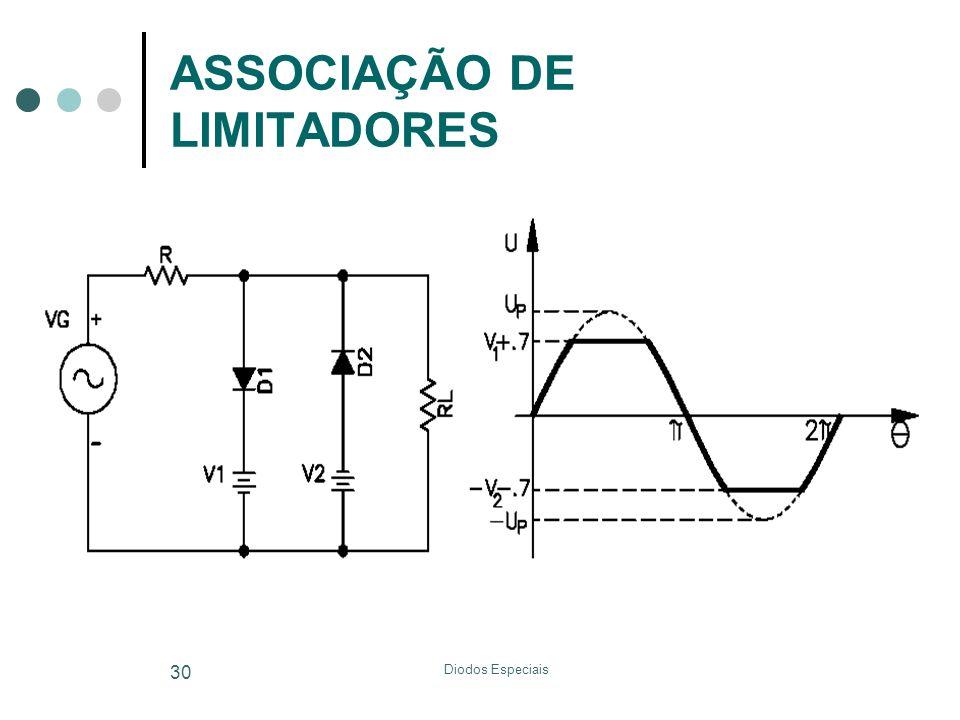 Diodos Especiais 30 ASSOCIAÇÃO DE LIMITADORES