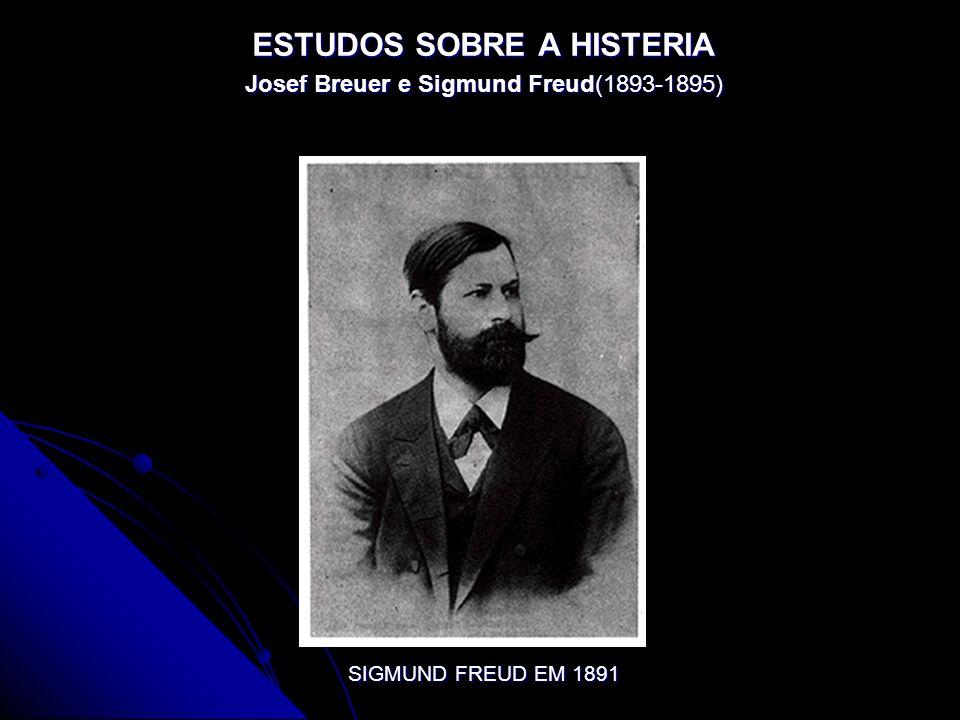 ESTUDOS SOBRE A HISTERIA Josef Breuer e Sigmund Freud(1893-1895) SIGMUND FREUD EM 1891