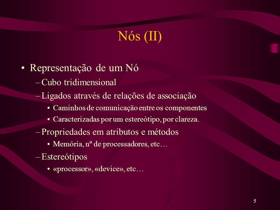 6 Nós (III)