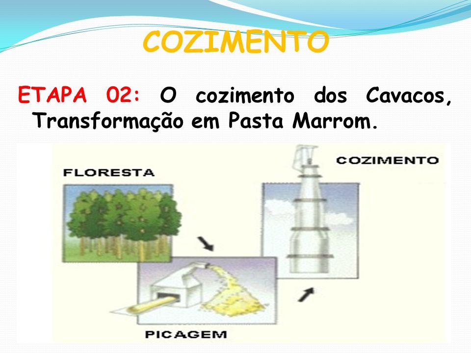 COZIMENTO ETAPA 02: O cozimento dos Cavacos, Transformação em Pasta Marrom.