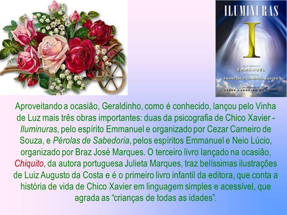 Geraldo Lemos Neto, que dirige o departamento editorial da Fraternidade Espírita Cristã Francisco de Assis de Belo Horizonte | MG, o Vinha de Luz, fal